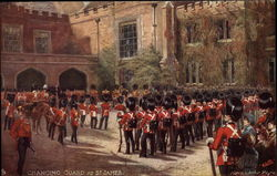 Changing Guard at St. James Postcard