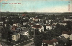 Bird's-Eye View of Clare Postcard