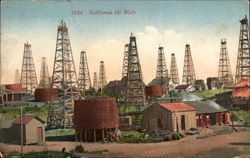 California Oil Wells