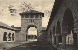 West Entrance to Quad, Stanford University