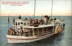 "Glass Bottom Power Boat ""Empress"""