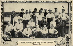 "Capt. Bartlett and Crew of the Steamer ""Roosevelt"""