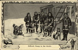 Difficult Camp in the Arctic