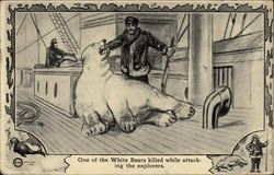 One of the White Bears killed while attacking the explorers