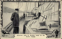 Schooner John R. Bradley ready for the Archtic Voyage
