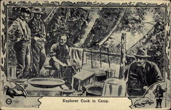 Explorer Cook in Camp
