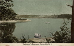 Waterman's Reservoir Postcard