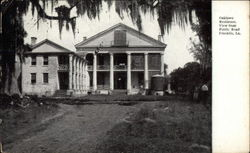 Oaklawn Residence, View from Public Road Postcard