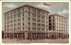 The San Diego Hotel on Broadway
