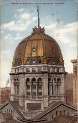 Dome of New Post Office building Postcard