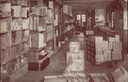 Shipping Department, Franco-American Hygienic Co Postcard