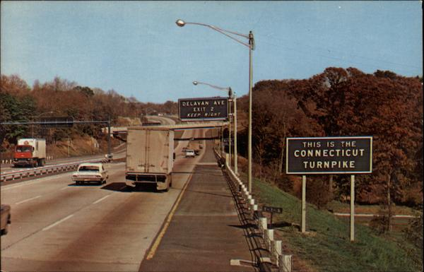 The Connecticut Turnpike at Byron Greenwich