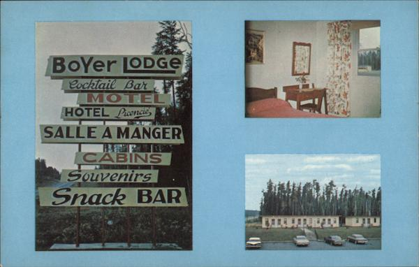 Boyer Lodge Abitibi Canda Quebec