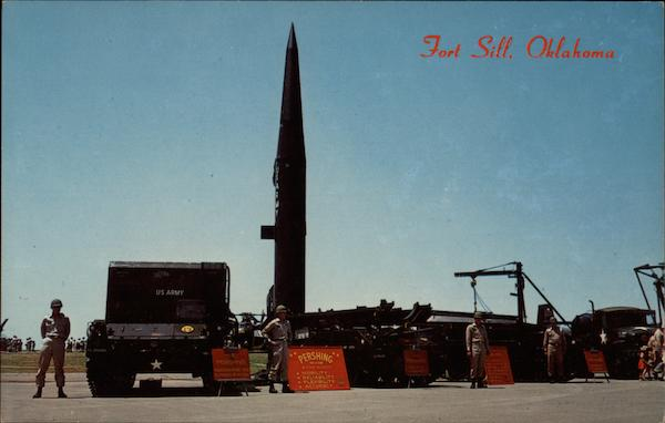 Pershing Missile at Fort Sill Oklahoma