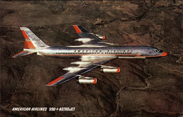 American Airlines 990 Astrojet Aircraft