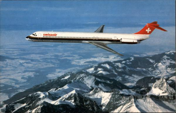81 Aircraft Contact Us Email Cv Jobs Gov 419 Scams Mail: Swissair McDonnell Douglas DC9-81 Aircraft