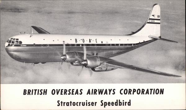 British Overseas Airways Corporation - Stratocruiser Speedbird