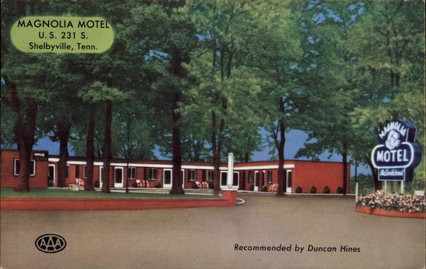 Magnolia Motel Shelbyville Tennessee