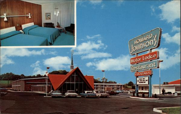 Howard Johnson's Motor Lodge Harrisburg Pennsylvania