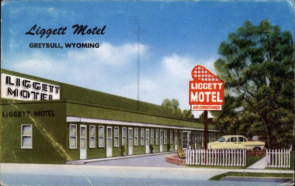 Liggett Motel Greybull Wyoming