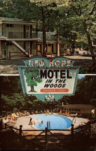 New Hope Motel Bucks County Pennsylvania