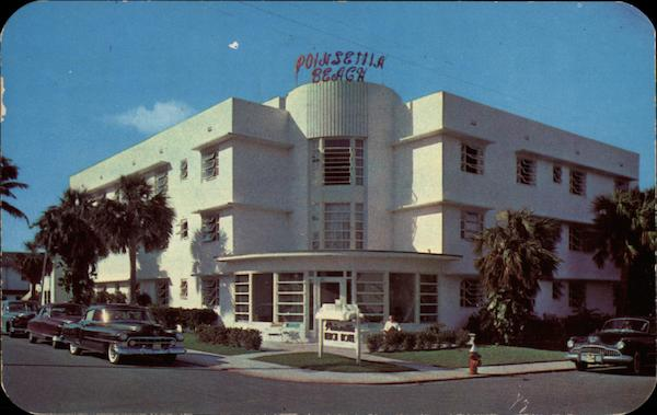 Poinsetta Beach Motel Fort Lauderdale Florida