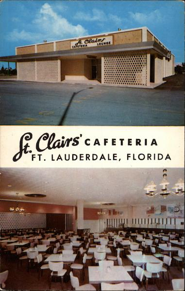 St. Clair's Cafeteria and Cocktail Lounge Fort Lauderdale Florida