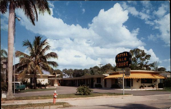 Royal Palm Court Fort Myers Florida Stebbins