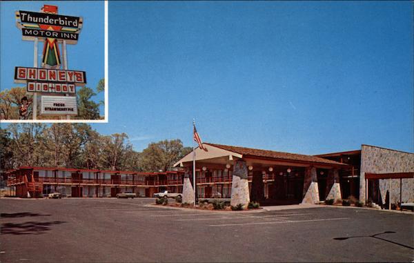 Thunderbird Motor Inn Fredericksburg Va