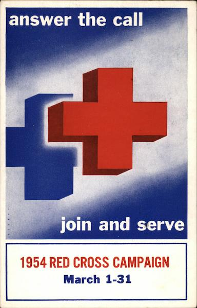 1954 Red Cross Campaign Washington District of Columbia