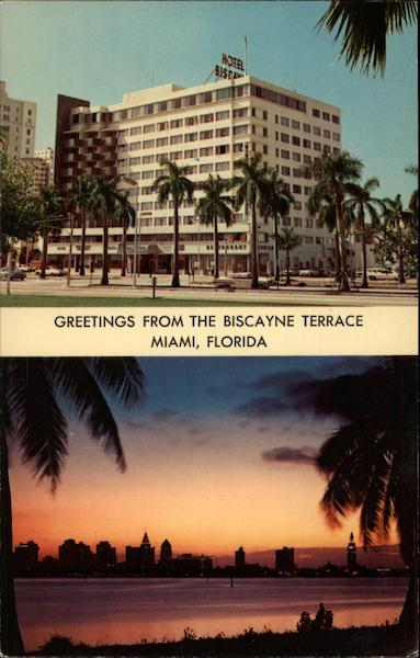The Biscayne Terrace Miami Florida
