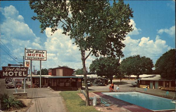 Del Norte Motel Restaurant Kerrville Tx