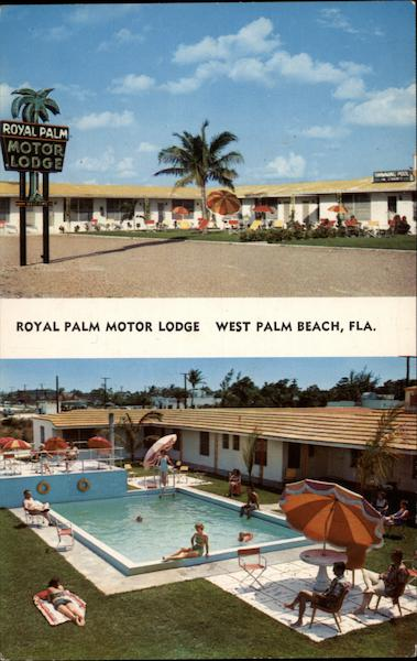 Royal Palm Motor Lodge West Palm Beach Florida