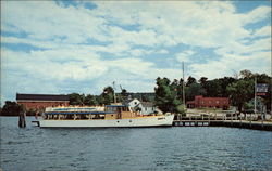 The Doris E. docked at Meredith on Lake Winnipesaukee