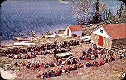 Hudson's Bay Company Trading Post - Indian Feast Time