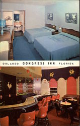 Congress Inn Postcard