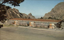 Motel Unit - Chisos Mountains Lodge Postcard