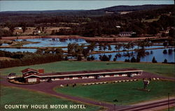 Country House Motor Hotel Postcard
