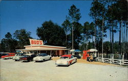 Bud's Barbecue Postcard