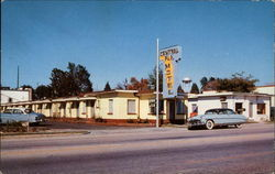 Central Florida Motel Postcard