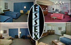 The Essex House Motel Postcard