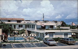 Seacomber Motel Apartments Postcard