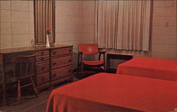 Lake Yale Baptist Assembly - Motel Room Postcard