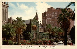 St. Mary's Cathedral and HOtel Jean La Fitte