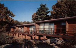 A Guest Lodge at Skyland, on the Skyline Drive