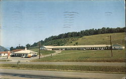 Johnson's Motel & Restaurant Postcard