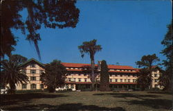 East Front, Overlooking Beautiful Lake Osceola, Seminole Hotel