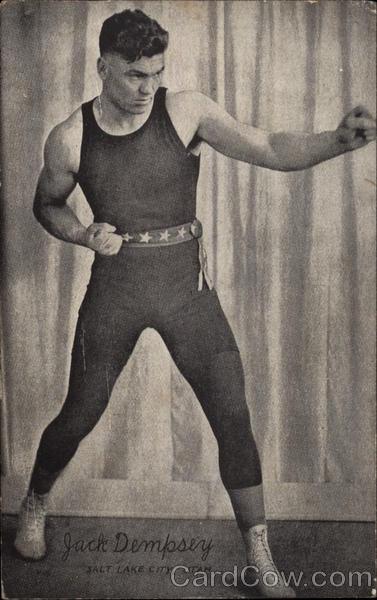 Jack Dempsey Salt Lake City Utah Boxing