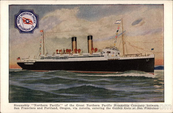 Steamship Northern Pacific Boats, Ships