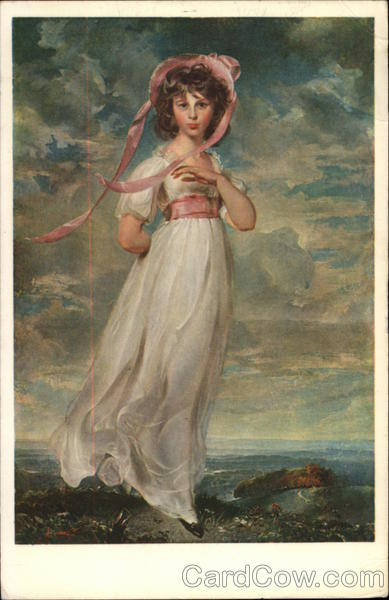 Pinkie (Miss Sarah Moulton-Barrett) By Sir Thomas Lawrence